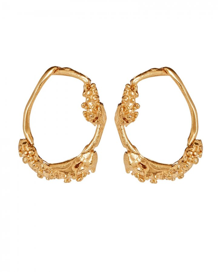 The Unreal City Hoop Earrings
