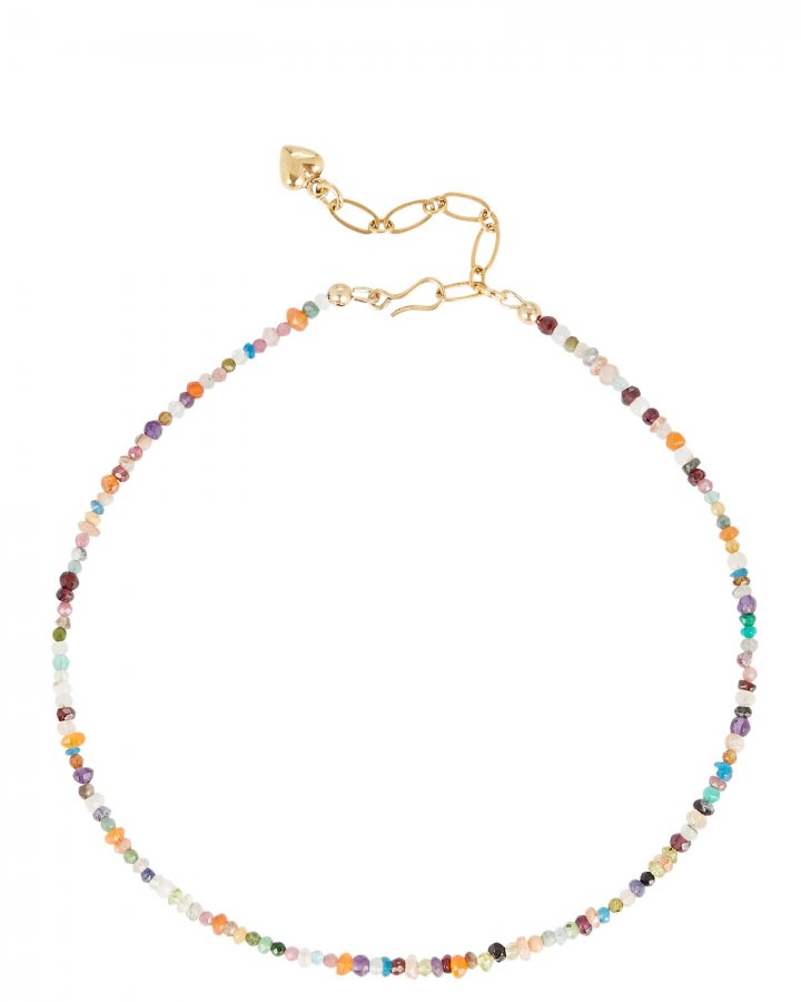 Jewel Beaded Necklace