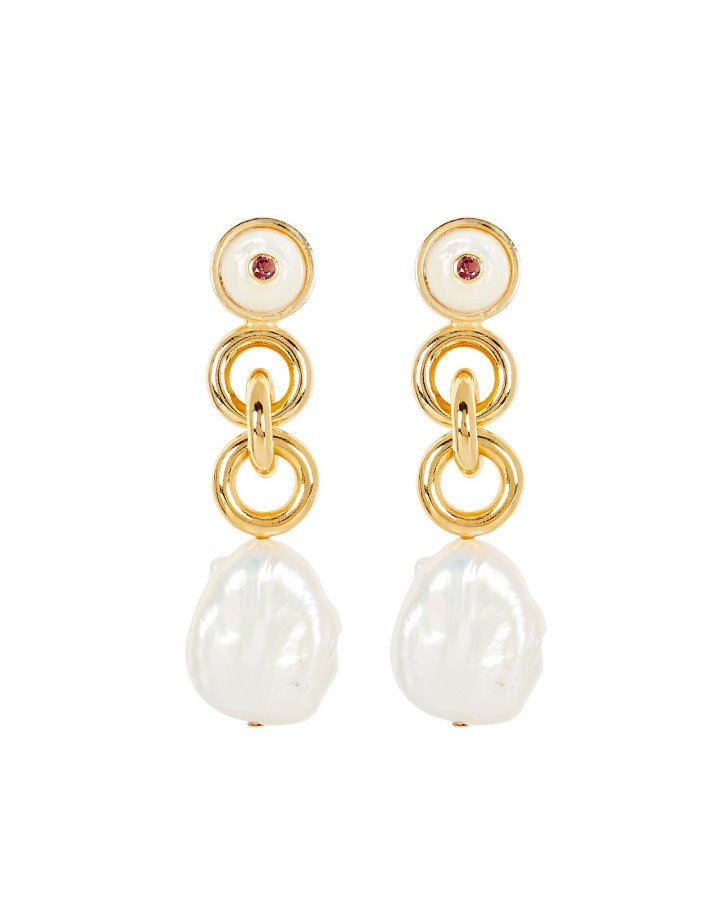 Eden Pearl Drop Earrings