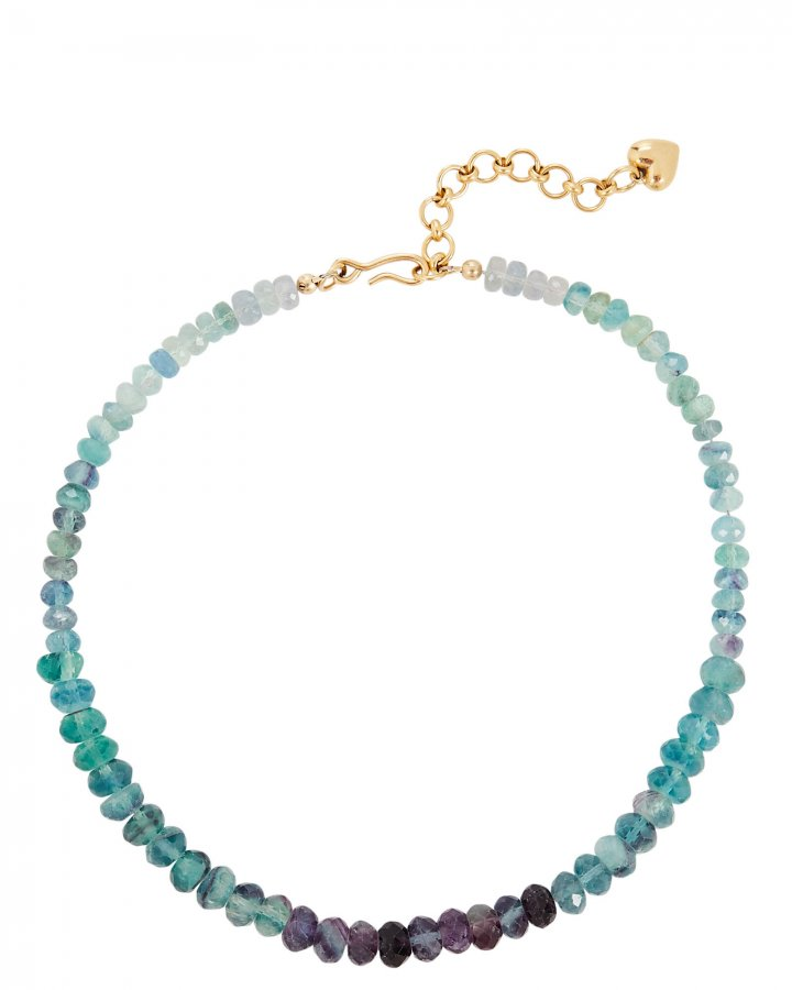 Blue Crush Beaded Necklace