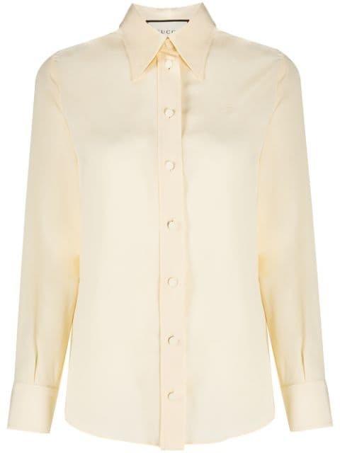 Gucci Collared Shirt Aw20 | Farfetch.Com