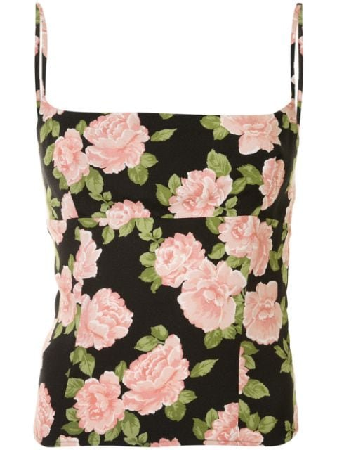 Reformation Grace floral-print Cami Top