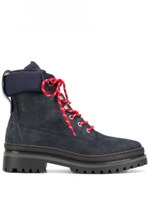 Tommy Hilfiger Lace-Up Winter Boots Aw19 | Farfetch.Com