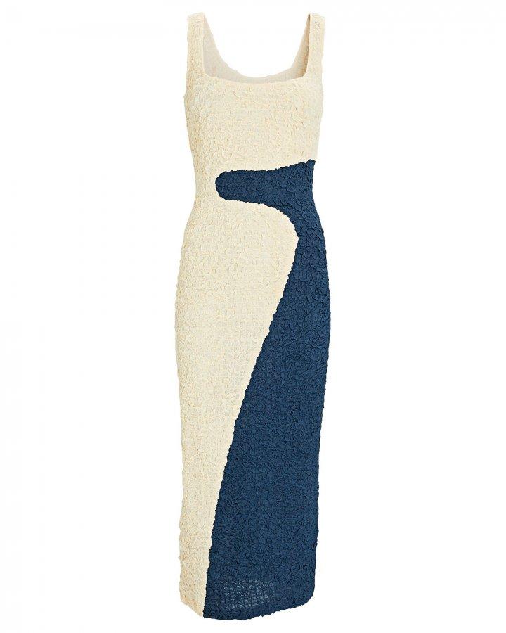 Sloan Colorblock Midi Dress