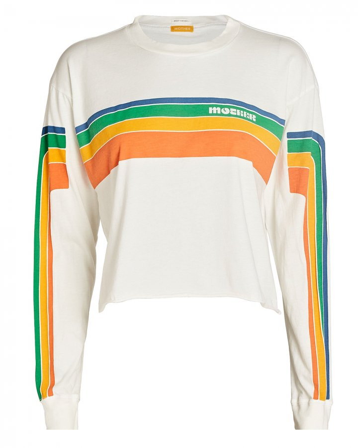 The Slouch Cut-Off Logo Sweatshirt