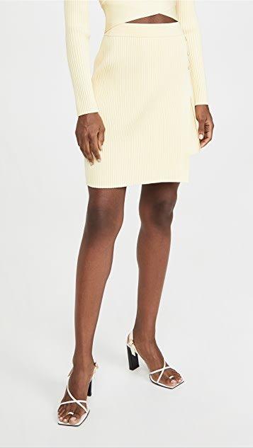 Emily Compact Cutout Skirt