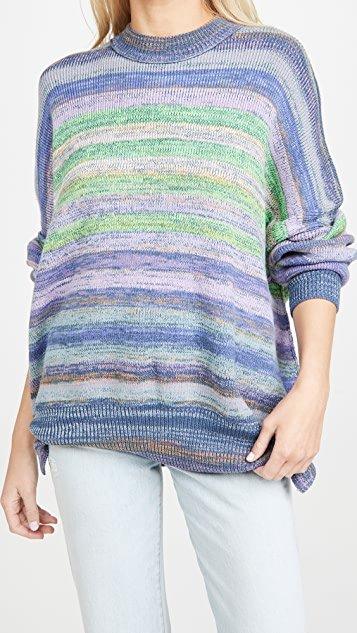 Easy Street Space Dye Sweater