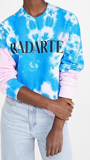 Radarte Tie Dye Sweatshirt