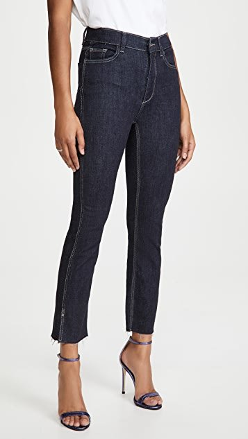 Better by DL Mara Ankle High Rise Straight Jeans
