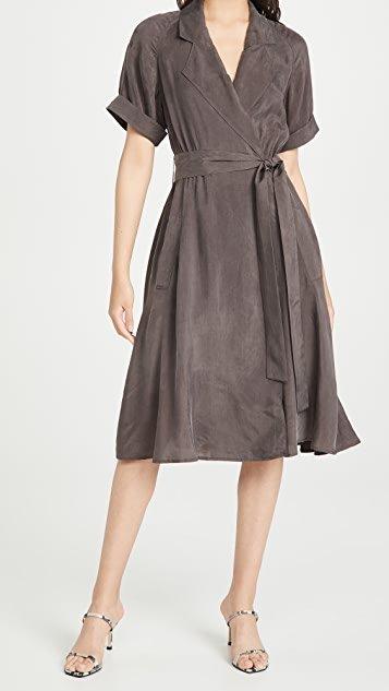 Trench Maxi Dress
