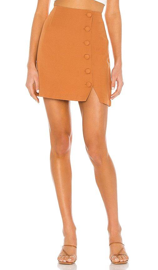 Mari Woven Mini Skirt
