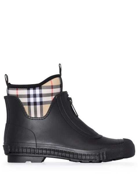 Burberry Flinton Vintage Check Rain Boots
