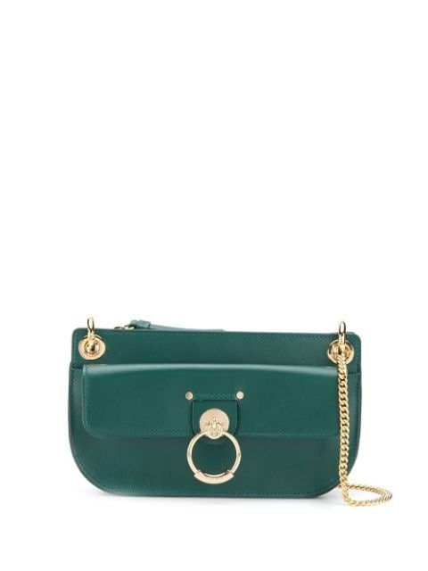 Chloé Tess Leather Shoulder Bag