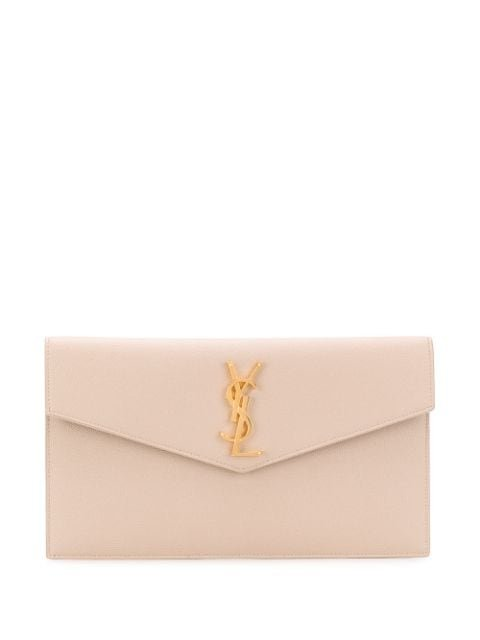 Saint Laurent Uptown Envelope Clutch Aw20 | Farfetch.Com