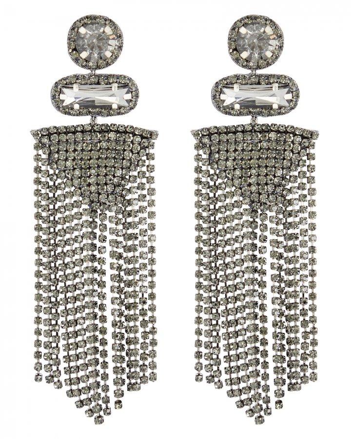 Jody Crystal Fringe Earrings