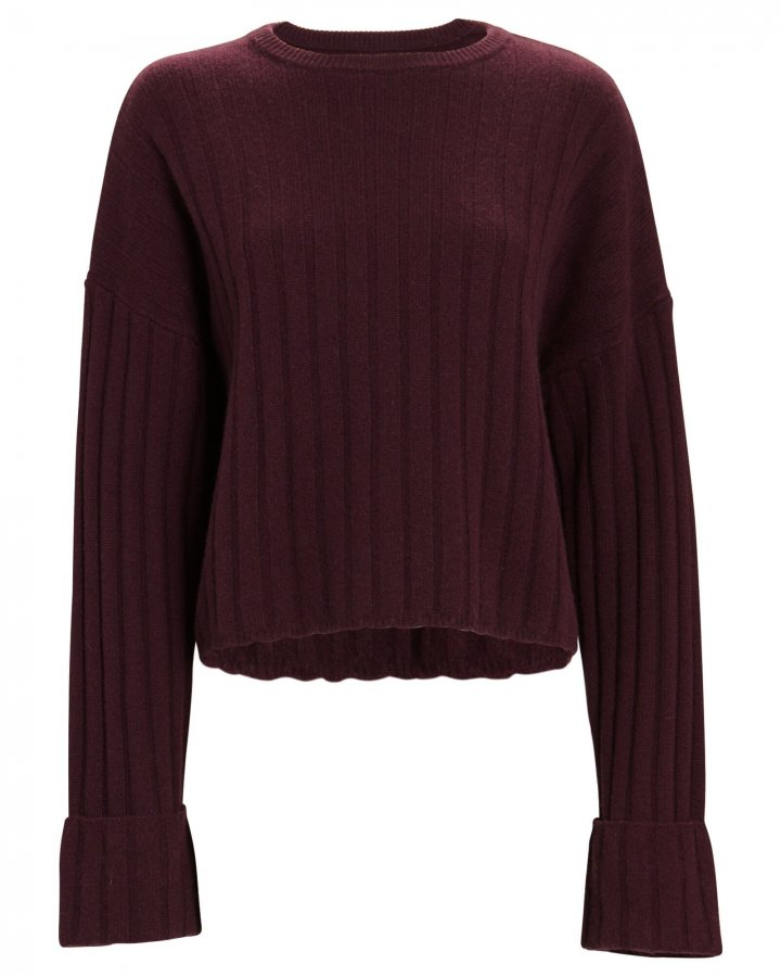Nathan Cashmere Rib Knit Sweater
