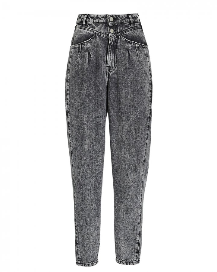Corto Tapered High-Rise Jeans