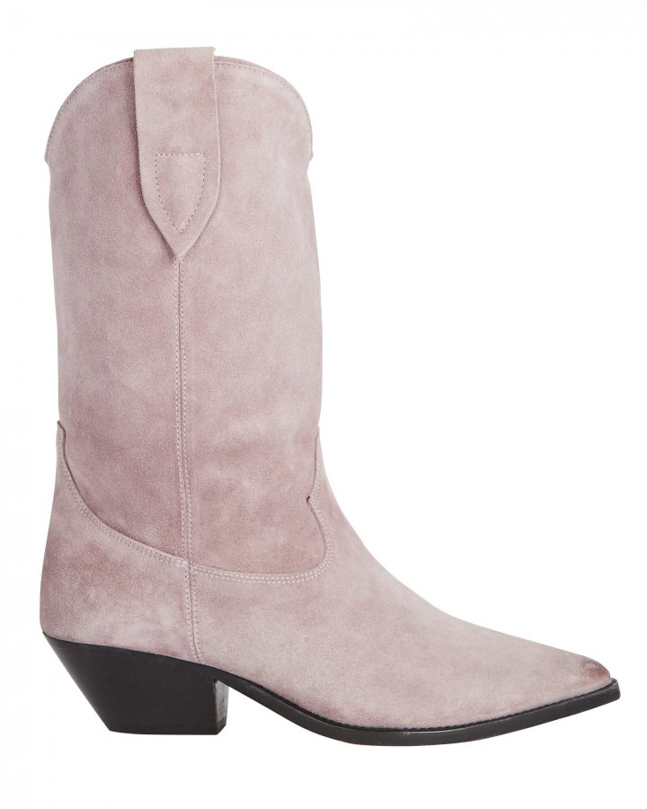 Duerto Suede Western Boots