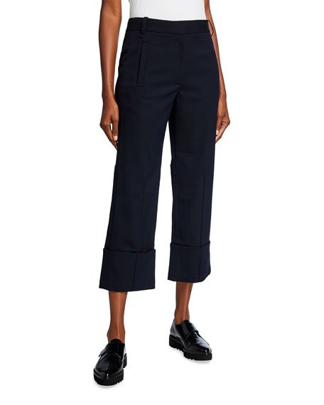 Luka Suiting Cuffed Hem Cropped Pants