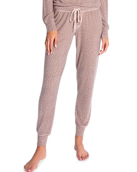 Doll Dot Jersey Lounge Pants