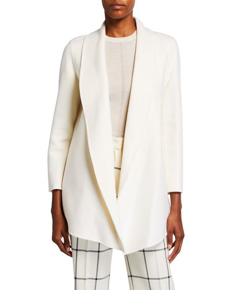 Clairene Double-Face Wool-Cashmere Jacket