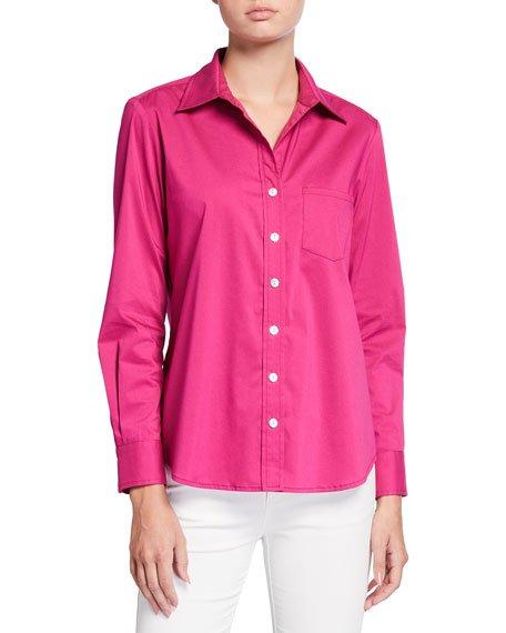 Alex Solid Button-Down Shirt