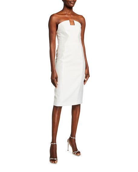Lena Strapless Sheath Dress
