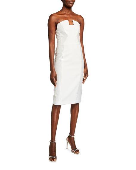 Lena Strapless Sheath Dress