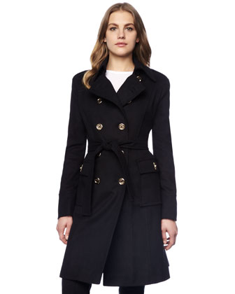 Women\'s MICHAEL Michael Kors Beverly Coat