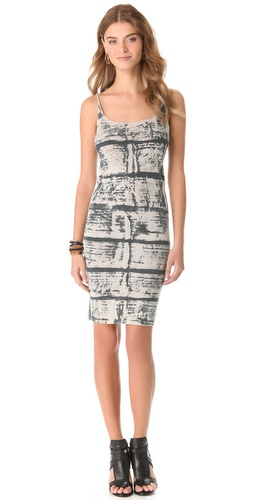 Raquel Allegra Layering Tank Dress Print