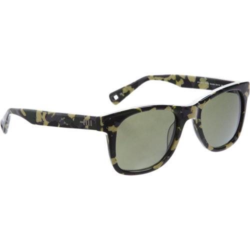 Mosley Tribes Retro-inspired Camo Sunglasses - Green Multi