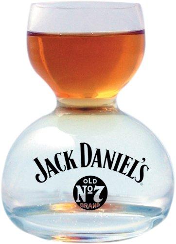 Jack Daniel\'s Whiskey On Water Glass