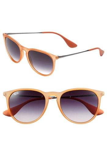Ray-Ban \'Wayfarer\' 54mm Sunglasses Orange