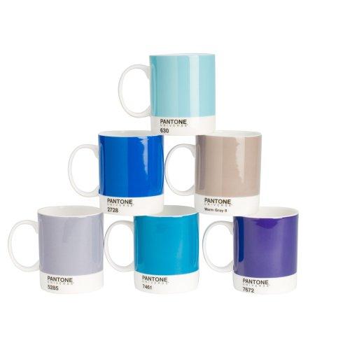 Pantone 2011-018 Universe Mug Set, 6-Pack