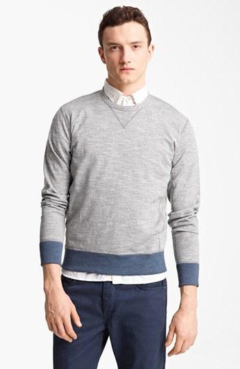 rag & bone Colorblock Crewneck Sweatshirt