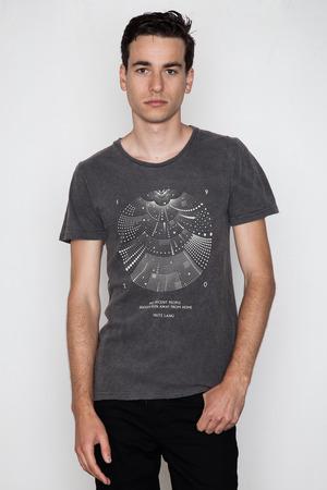 Robert Geller - Lang T-Shirt