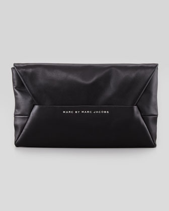 MARC by Marc Jacobs Tangram Anna Clutch Bag, Black
