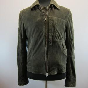 New Burberry Brit Dark Brown Reckitt Suede Jacket