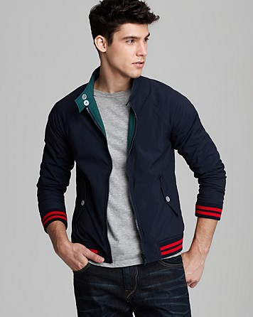 This is not a polo shirt by band of outsiders reversible for Polo shirt with jacket