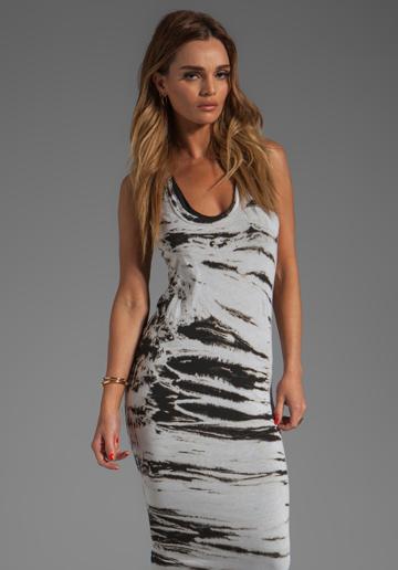 Enza Costa Costae Dye Jersey Dress