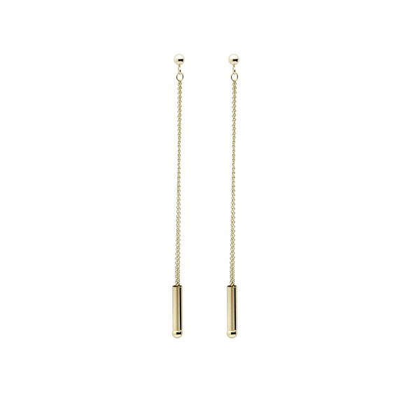 Small Straw Earrings by Ginette NY