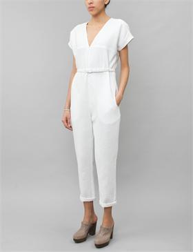 25c94ee70f16 Glinda Jumpsuit- White Foam    Rachel Comey