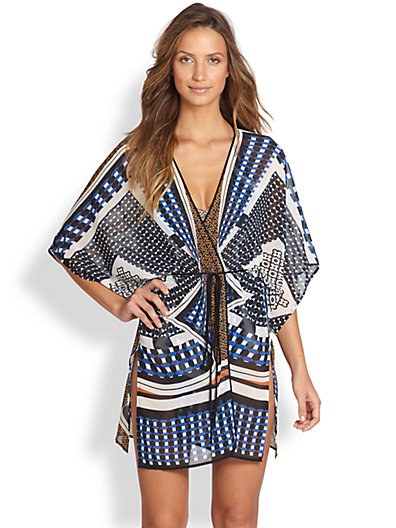 Twist-Scarf Coverup // Clover Canyon