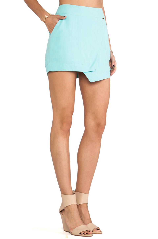 Wrap Mini Skirt // Harlyn