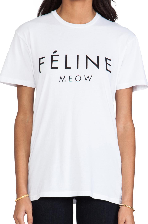 Feline Tee // Brian Lichtenberg
