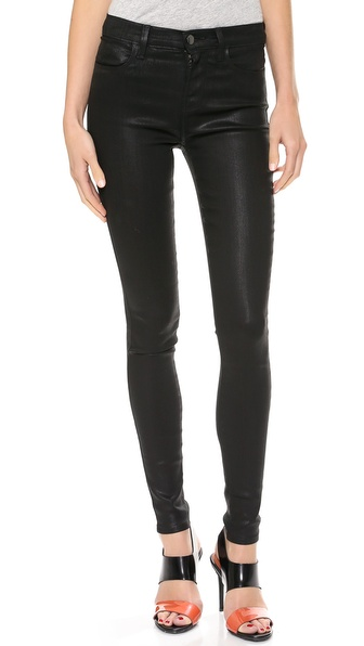 23110 High Rise Coated Jeans // J Brand