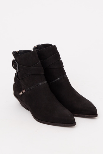 The Space Mini Zip Envelope Ankle Boot // LD Tuttle