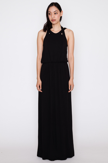 Black Kensa Maxi Dress