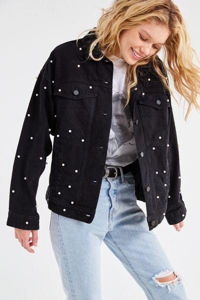 Pearl + Denim Trucker Jacket