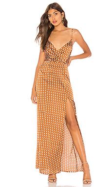 Lorie Slit Maxi Dress                                             About Us